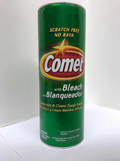 Comet With Bleach (Scratch Free No Raya) 21 OZ