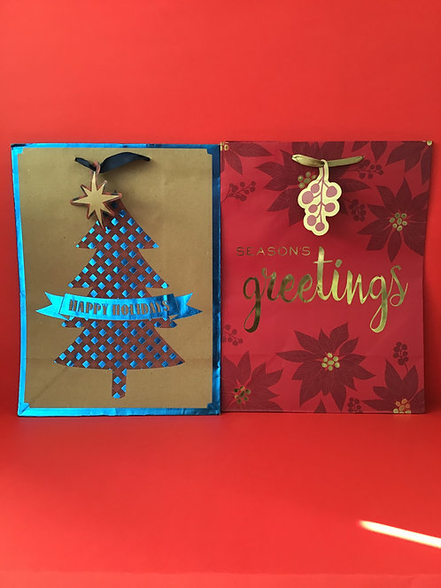 Large Christmas Bags Assorted