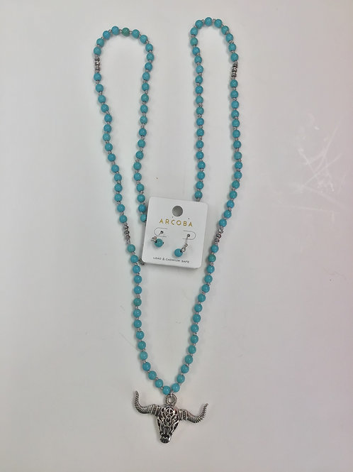 Arcoba Necklace With Earings