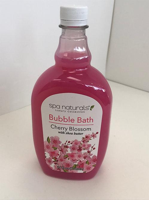 Spa Naturals Cherry Blossom w/Shea Butter Bubble Bath 24 OZ