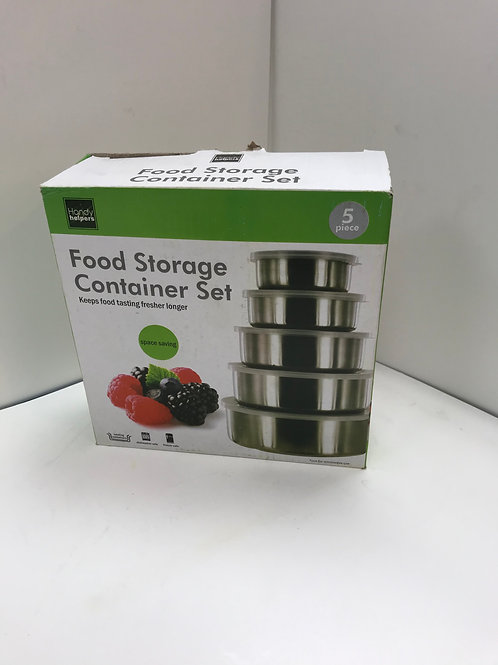 5 PC Food Storage Container Set