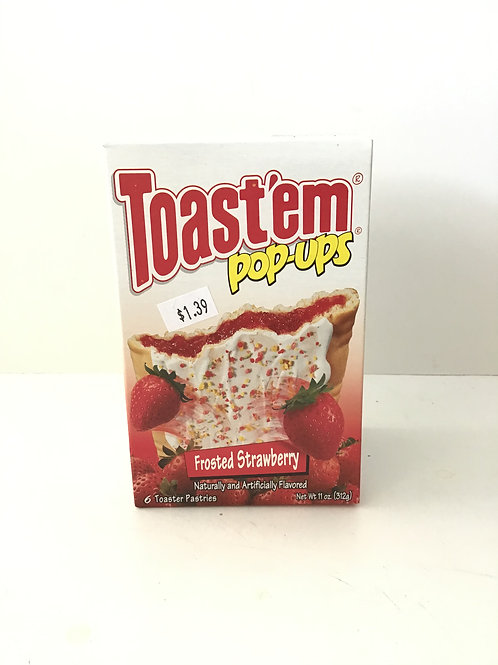 Toast'em Pop-ups Frosted Strawberry