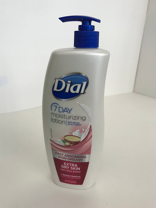Dial 7 Day Lotion Extra Dry Skin 21 OZ