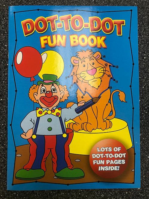 Dot To Dot Fun Book