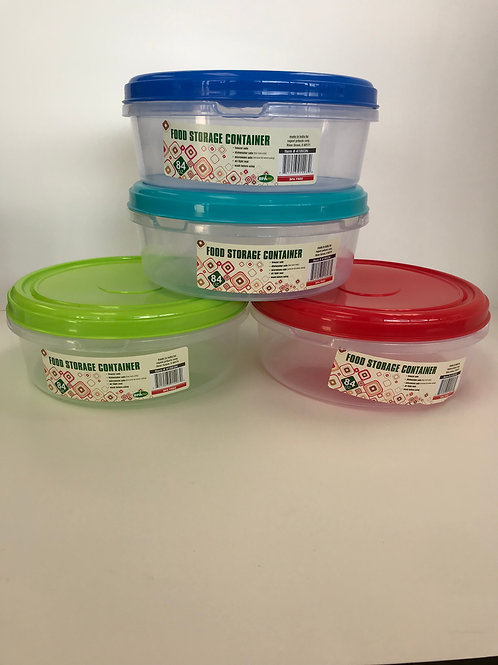 Food Storage Container Assorted Colors 84 OZ
