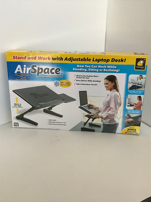 Air Space Stand & Work Laptop Desk
