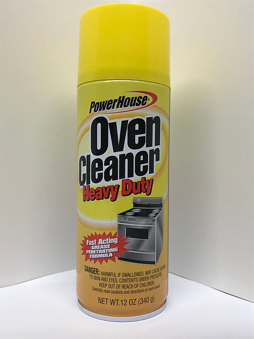 Power House Oven Cleaner Heavy Duty 12 OZ