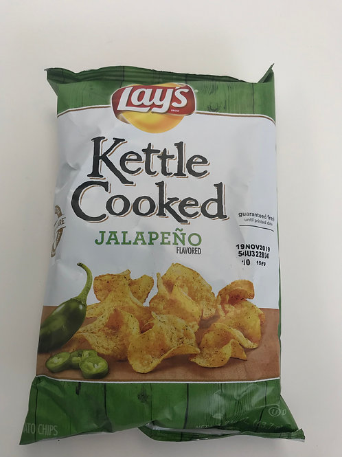Lay's Kettle Cooked Jalapeno