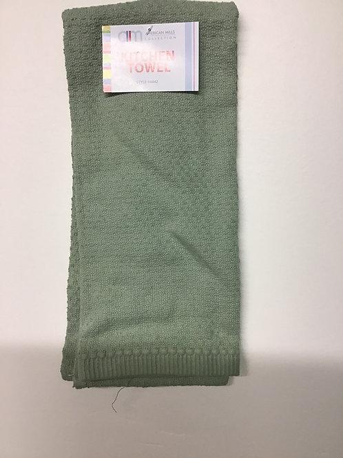 American Mills Kitchen Towel (Light Green)