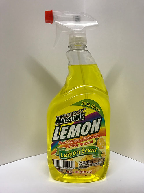 LA Totally Awesome Lemon Multi-Surface Degreaser & Spot Remover 40 FL OZ