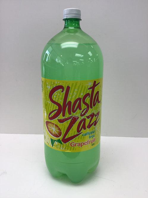SHASTA ZAZZ GRAPEFRUIT 2.5 LITER