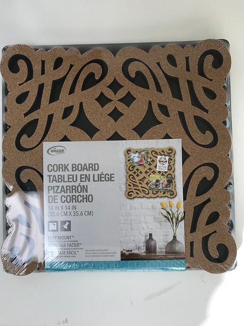 Cork Board Easy Mount
