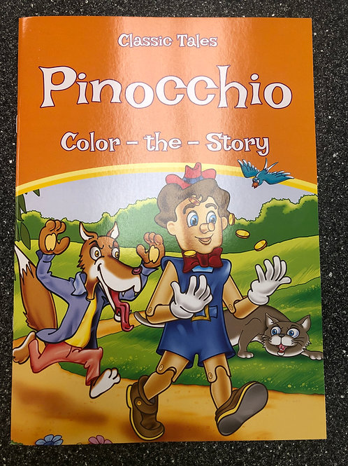 Classic Tales Pinocchio Color the Story