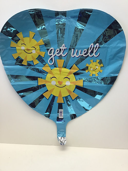 Get Well 17""