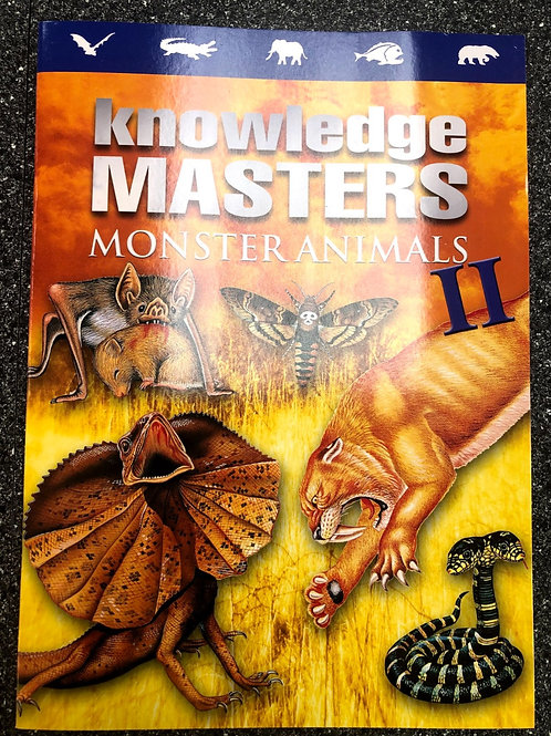 Knowledge Masters Monster Animals