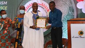 Ghana Outdoors National Tourism Customer Service Brand Ambassador, Caleb Kofie (VIDEO)