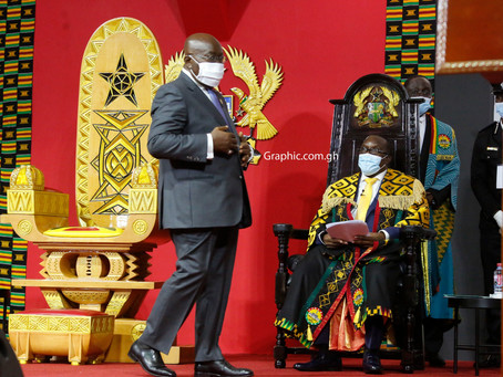 """""""My Senior And I Will Work Together For The Well-Being Of The Ghanaian People"""" - Prez. Akufo-Addo"""