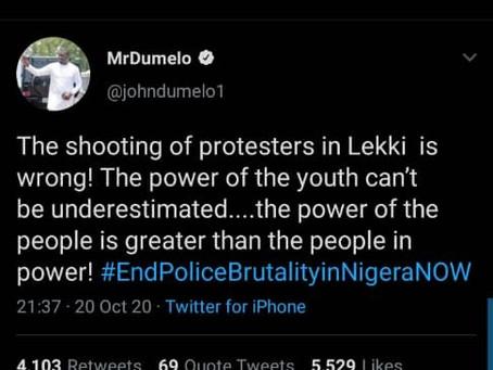 "#EndSARS:""You Are An ECOWAS Chairman, Do Something"" - Social Media Users To Akufo-Addo (Screenshots)"