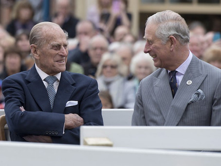 """Prince Charles """"Thrilled"""" After Prince Philip Returns To Windsor"""