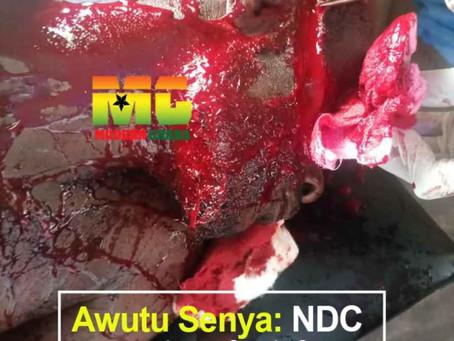 NDC Secretary Butchers Youth Organiser For Pocketing GHc600 At Awutu Senya (VIEWER DISCRETION)