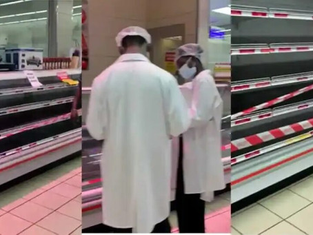 ACCRA MALL: FDA Locks Shoprite's Meat Section; Fines Them For Selling Imported Chicken As Local