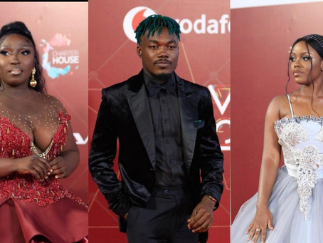 VGMA 22: Stunning Pictures Of Some Celebrities On The Red Carpet (Pics)
