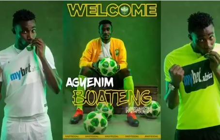 SPORTS: Dreams FC Unveils 'Goal Machine', Agyenim Boateng Mensah As New Striker (Video)