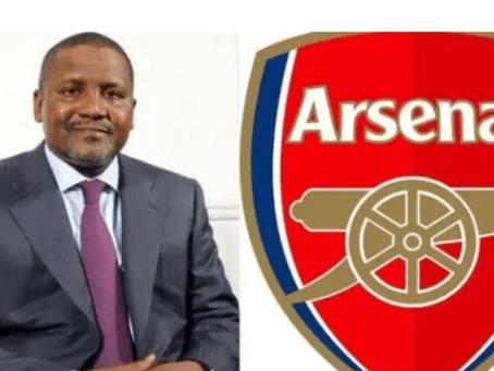 Dangote Nearing Arsenal Takeover Talks With Kroenke