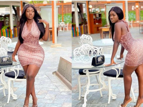 Hajia Bintu Drops New Stunning Photos With An Advise On How To Handle Issues (Pics)