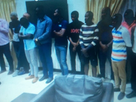 National Security Busts Fake Currency Gang Involved In Over $5m Scheme At Airport (Pics)