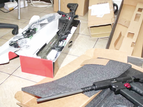 Customs Officials Intercept Guns At Tema Port
