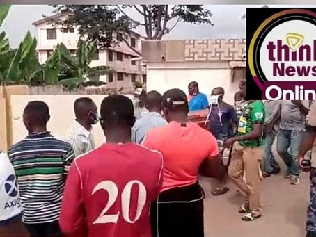 WATCH: EXCLUSIVE VIDEOS: Hearts Of Oak Fan, Shomo Quaye Laid To Rest (Picture + Videos)