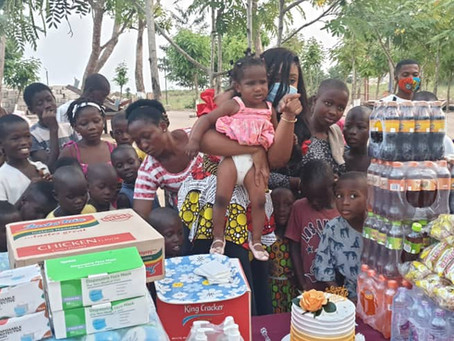 Actress Jessica Williams Celebrates Her Birthday With Royal Seed Orphanage Home (Videos/Pictures)