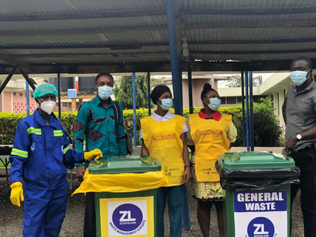 Zoomlion Commended For Role In Managing Medical Waste At Vaccination Centres