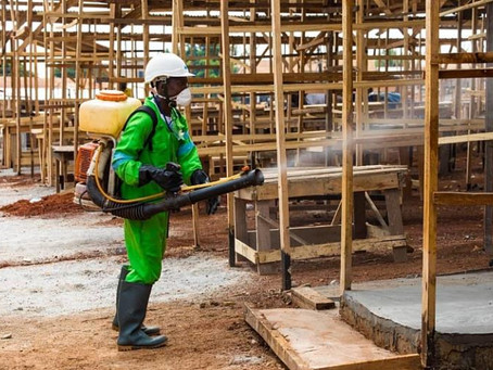 COVID-19: Gov't Commences 3rd Phase Of Market Disinfection (Pictures)