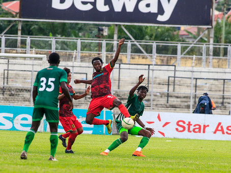 JUST IN: Andy Kumi's Late Strike Saves Kotoko From A Defeat To King Faisal At Len Clay Stadium