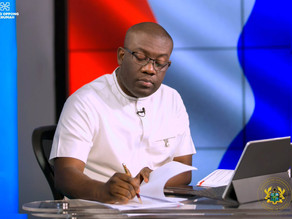 Spotlight On Kojo Oppong Nkrumah, Minister for Information And Member of Paliament, Ofoase-Ayirebi