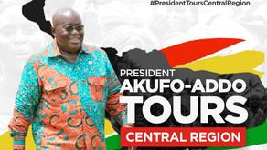 Akufo-Addo Tours Central Region