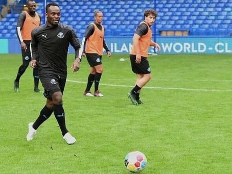 SPORTS: Michael Essien Seals Coaching Assistant Job At Nordsjaelland FC (Pictures)