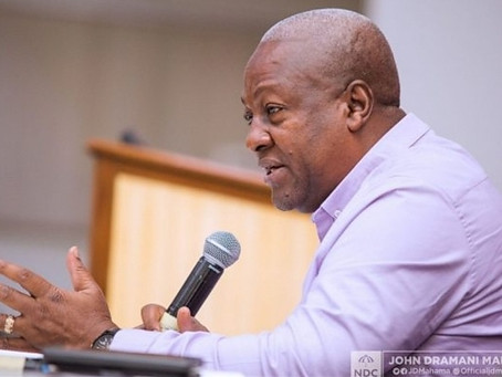 """""""In The Midst Of COVID-19, What Is The Use Of Naming A Running Mate?"""" - Ex Prez Mahama"""