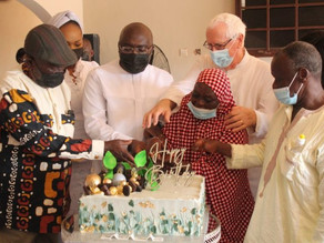 Vice Prez Bawumia Celebrates 58th Birthday With Cured Lepers