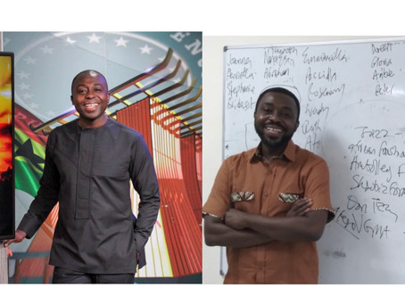 From The Television Set To Classroom: Kafui Dey Is Officially A Lecturer At GIJ