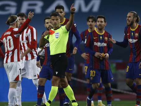 Messi Might Face A Maximum Of 12 Games After His Red In The Cup Final