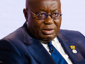 """""""We Have Let Our Guard Down"""" - President Akufo-Addo"""