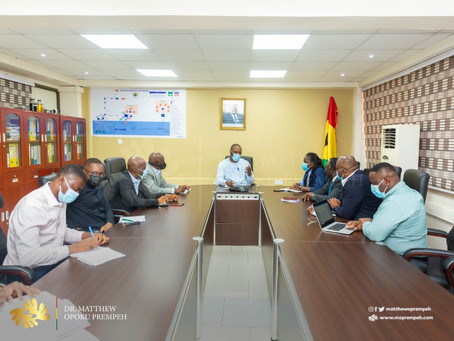 Ghana Upstream Petroleum Chamber (GUPC) Assures Energy Minister of Support (Pictures)