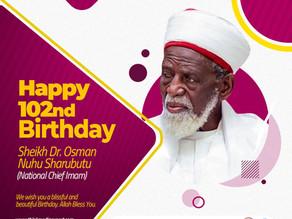 Spotlight On National Chief Imam, Sheikh Dr Osmanu Nuhu Sharubutu