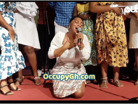 Moesha Boduong Weeps As She Gives Her Life To Christ (VIDEO)