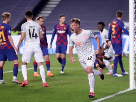 UEFA CHAMPIONS LEAGUE: Ruthless Bayern Munich Thrash Barcelona 8-2 At Estadio Da Luz (Pictures)