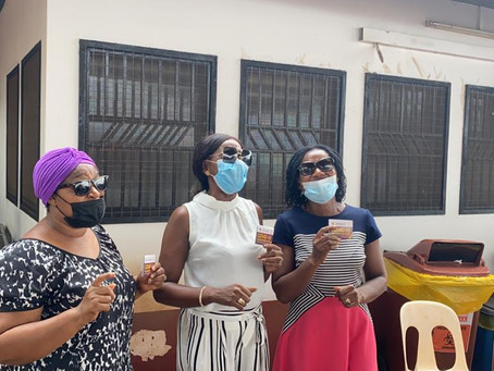 Daughters Of Glorious Jesus Takes Covid-19 Vaccine (Pictures/Videos)