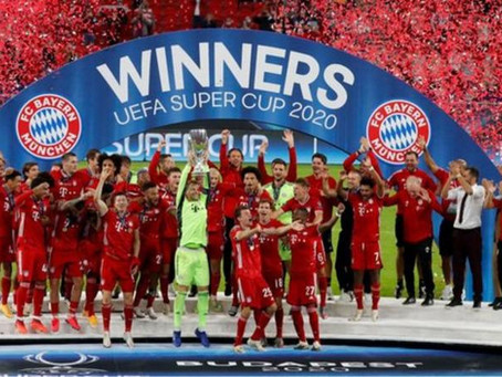 SPORTS: Martinez Scores Extra-Time Winner As Bayern Beat Sevilla To Win Super Cup